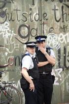 PCSO on patrol East London. - Justin Tallis - 03-09-2010