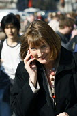 Harriet Harman MP out and about in Westminster, London. - Justin Tallis - 2010s,2011,call,calls,CELLULAR,communicating,communication,EMOTION,EMOTIONAL,EMOTIONS,FEMALE,HAPPINESS,happy,Labour Party,London,mobile phone,mobile phone,people,person,persons,PHONE,PHONES,pol politi