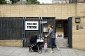 A polling station for voting in local elections as well as a UK wide referendum on the alternative voting system. London. - Justin Tallis - 2010s,2011,adult,adults,alternative,av,cast,casting,child,CHILDHOOD,children,cities,city,deciding,decision,decisions,democracy,election,elections,electorate,FAMILY,FEMALE,juvenile,juveniles,kid,kids,l