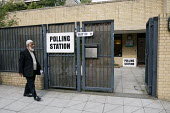 A polling station for voting in local elections as well as a UK wide referendum on the alternative voting system. London. - Justin Tallis - ,2010s,2011,alternative,asian,asians,av,BAME,BAMEs,Black,BME,bmes,cast,casting,cities,city,deciding,decision,decisions,democracy,diversity,election,elections,electorate,ethnic,ethnicity,ISLAM,ISLAMIC,