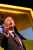 Tim Farron MP speaking at the Liberal Democrats conference. Birmingham. - Justin Tallis - 18-09-2011