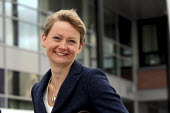 Yvette Cooper MP arriving at the Labour Party Conference. Liverpool. - Justin Tallis - 27-09-2011