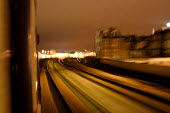 A train driving into Cardiff Central Station - Justin Tallis - 04-01-2006