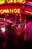 A casino in Grimsby. - Justin Tallis - 2000s,2006,ACE Entertainment,amusement,arcade,arcades,bet,BETS,betting,cash,casino,casinos,chance,change,dark,gamble,gambler,gamblers,gambling,game,games,gaming,light,lights,lose,losing,money,neon,nig
