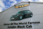 London Taxi International manufacturing plant in Coventry where the iconic black cab is made. LTI are part of Manganese Bronze Holdings PLC. - Justin Tallis - 2000s,2008,AUTO,auto industry,AUTOMOBILE,AUTOMOBILES,Automotive,Black Cab,cab,cabs,capitalism,capitalist,car,Car Industry,carindustry,cars,cities,city,EBF Economy,employee,employees,Employment,FACTORI