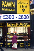 Pawnbroker, cheques cashed and speed loans. Wembley Central, London. - Justin Tallis - 20-10-2008