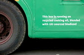 Green Party bus that runs on recycled cooking oil. Campaigning for the 2009 European Elections. Oxford. - Justin Tallis - ,2000s,2009,agrofuel,agrofuels,biodiesel,biofuel,biofuels,bus,bus service,buses,campaign,campaigning,CAMPAIGNS,COOKERY,cooking,democracy,efficient,election,elections,eni,environment,Environmental Issu