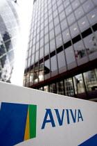 Insurance company Aviva�s Headquarters. City of London. - Justin Tallis - 29-10-2009