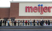 Michigan - The unemployed of Detroit queue to apply for 200 jobs at a new Meijer store. - Jim West - , American,2010,2010s,America,American,americans,application,apply,applying,Detroit,DOWNTURN,EARNINGS,EBF,Economic,economy,employee,employees,employment,Income,inequality,interview,INTERVIEWED,INTERVI