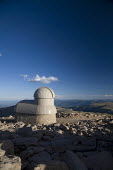 Idaho Springs, Colorado - The Meyer-Womble Observatory on top of Mt. Evans. At 14,148 feet, the observatory is the highest operating observatory in the world, according to Denver University, which bui... - Jim West - 24-08-2007