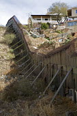 Nogales, Arizona, the border fence that separates the USA on the left, from Mexico - Jim West - 2000s,2008,America,americas,Arizona,barrier,border,border control,border controls,borders,boundary,CLJ,Diaspora,divide,division,fence,foreign,foreigner,foreigners,Hispanic,Hispanics,homeland security,