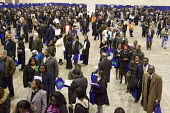 More than 5,000 unemployed residents of southeast Michigan showed up to look for work, at a job fair, sponsored by the City of Detroit. - Jim West - 2000s,2009,African American,African Americans,agencies,agency,America,apply,applying,bag,bags,BAME,BAMEs,Black,BME,BME Black minority ethnic American,bmes,career,CAREERS,crowd,crowds,diversity,DOWNTUR