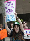 New Orleans, Louisiana - Environmentalists march to the headquarters of Entergy Corporation to protest at the electric utility plan to convert an old natural gas plant to burn coal to produce electric... - Jim West - 2000s,2009,activist,activists,against,Air Pollution,alternative energy,America,American,americans,anti,campaign,campaigner,campaigners,campaigning,CAMPAIGNS,clean,Climate Change,coal,coast,coastal,coa