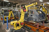 Chrysler Robots assemble new Jeep Grand Cherokee, at the Jefferson North Assembly Plant. - Jim West - 21-05-2010