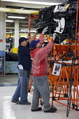 Chrysler Workers assemble new Jeep Grand Cherokee, at the Jefferson North Assembly Plant. - Jim West - 21-05-2010