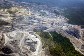 An aerial view of Mountaintop removal mining (MTR). West Virginia - Jim West - 2010,2010s,aerial,America,carbon,Climate Change,CO2,coal,coalfield,country,countryside,degradation,dioxide,EBF,ebf Economy American,ecology,Economic,Economy,energy,eni,eni environmental issues,environ