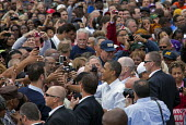 President Obama at Labor Day Rally in Detroit - Jim West - 2010s,2011,African American,African Americans,America,American,americans,BAME,BAMEs,black,BME,bmes,campaign,campaigning,CAMPAIGNS,DEMOCRACY,Democratic Party,Democrats,Detroit,diversity,election,electi