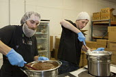 Denver, Colorado - Workers at Dixie Elixirs make Colorado Bars, chocolate covered sunflower fudge bars infused with THC, the active ingredient of marijuana. - Jim West - 16-05-2014