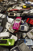 Dexter, Michigan - Cell phone recycling at ReCellular, Inc. The company collects used phones, inspects and repairs them then resells them. These old phones could not be resold, so the components will... - Jim West - 18-04-2013