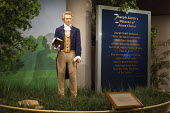 Salt Lake City, Utah - Joseph Smith, founder of the Church of Jesus Christ of Latter Day Saints (Mormons), at a Mormon visitor center in Temple Square. - Jim West - 14-11-2014