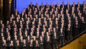 Salt Lake City, Utah - Men of the Mormon Tabernacle Choir. - Jim West - 16-11-2014