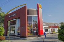 Oaxaca, Mexico - A McDonalds restaurant. - Jim West - 18-01-2015