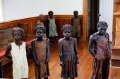 Wallace, Louisiana - The Whitney Plantation, a sugar plantation that has been turned into a museum to tell the story of slavery. Sculptures of slave children are displayed as a memorial to the thousan... - Jim West - 16-05-2015