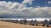 Colorado, wind turbine blades outside Vestas Wind Systems factory USA - Jim West - American,2010s,2015,Alternative Energy,America,American,americans,blade,blades,capitalism,capitalist,Colorado,EBF,Economic,Economy,ELECTRICAL,ELECTRICITY,ENERGY,FACTORIES,factory,farm,farms,generator,
