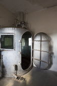 Gas chamber Wyoming Frontier Prison USA the former State Penitentiary closed in 1981 - Jim West - 13-07-2015