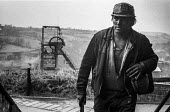Miner at Oakdale colliery, South Wales leaving work - Martin Mayer - 05-01-1972
