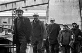 Miners from Taff Merthyr colliery, South Wales, leaving work - Martin Mayer - 06-01-1972