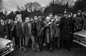 Miners picketing West Wales National Coal Board Offices during strike. - Martin Mayer - Miners Strike, Miner's Strike NUM, Trades Union,1970s,1972,Coal,dispute,DISPUTES,EARNINGS,EQUALITY,Income,INCOMES,INDUSTRIAL DISPUTE,inequality,living wage,low pay,Low Income,low paid,low pay,Marginal