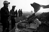 Digging a relief shaft during the Lofthouse colliery disaster in which 7 men died - Martin Mayer - 22-03-1973