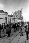 Trades union members from Stirling, Scotland march in support of miners from Polmaise pit - Martin Mayer - 23-02-1974