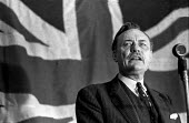 Conservative MP Enoch Powell speaking at a rally Tamworth & Litchfield constituency, Staffordshire, during the 1970 election campaign - Martin Mayer - 15-06-1970