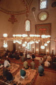 Inside the Careva Dzamija mosque, The Emperors Mosque, Sarajevo, Bosnia - Martin Mayer - 09-09-1990