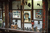 Traditional film photographers studio shop in Sarajevo. - Martin Mayer - 09-09-1990