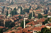 View of Sarajevo Old Town, Bosnia 1990 - Martin Mayer - 10-09-1990