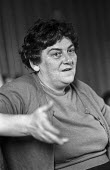 Civil rights leader Bridget Bond, DHAC, Derry, Northern Ireland, 1971 - Martin Mayer - 13-08-1971