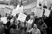 The second of 2 national Days of Action organised by the TUC against the anti-union laws proposed by the Heath Government, Liverpool. - Martin Mayer - 12-01-1971