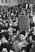 Liverpool tenants demonstrate against the Rent Act of 1972 that increased council house rents. - Martin Mayer - 02-10-1972