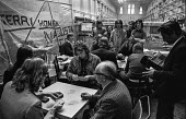 Occuption of L. Gardner and Sons Ltd factory, Eccles, Manchester in support of a pay claim, following a lock-out by management - Martin Mayer - 11-06-1973