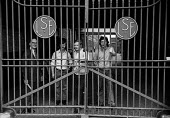 Sit-in at Laurence Scott and Electromotors engineering works, Manchester in support of a district wide claim for a 6 pay increase, 35 hour week, equal pay and longer holidays - Martin Mayer - 15-04-1972