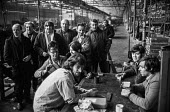 Workers at H.O. Serck and Co, Longsight, Manchester occupying their factory in support of a district wide claim for 6 pay increase, a 35 hour week, equal pay and longer holidays - Martin Mayer - 30-03-1972