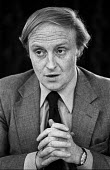 Neil Kinnock MP speaking at a Labour Party press conference - Martin Mayer - 11-11-1979