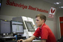 The blast furnace control room SSI UK Redcar steelworks Teesside - Mark Pinder - 02-04-2014