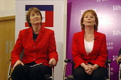 'Unions Together' Labour leadership and deputy leadership hustings meeting, Centre For Life, Newcastle Upon Tyne, 3/6 2007. Deputy leadership candidates Harriet Harman and Hazel Blears. - Mark Pinder - 03-06-2007
