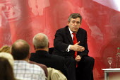 'Unions Together' Labour leadership and deputy leadership hustings meeting, Centre For Life, Newcastle Upon Tyne, 3/6 2007. Gordon Brown addresses the meeting. - Mark Pinder - 03-06-2007