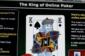 The online gambling site of PartyPoker.com part of PartyGaming.com the internet gambling company that lost many millions of dollars in value when the US Government banned online gaming from foreign co... - Mark Pinder - 03-11-2006