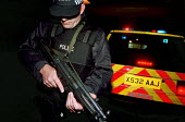 Armed Police, firearms and tactical training at the Cleveland and Durham Police Tactical Training Centre, Stockton. - Mark Pinder - 08-08-2001